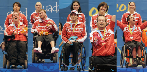 canada-boccia-medalists-guadalajara-2011